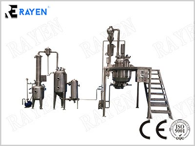 Extractor And Concentrator Machine